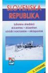 Slovenská Republika - Síközpontok térkép