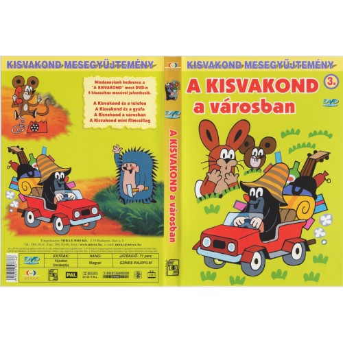 A kisvakond a városban (Kisvakond mesegyűjtemény 3.)  (DVD)
