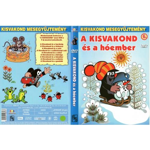 A kisvakond és a hóember (Kisvakond mesegyűjtemény 6.)  (DVD)