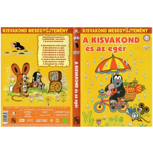 A kisvakond és az egér (Kisvakond mesegyűjtemény 7.)  (DVD)
