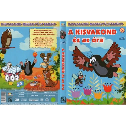 A kisvakond és az óra (Kisvakond mesegyűjtemény 5.)  (DVD)