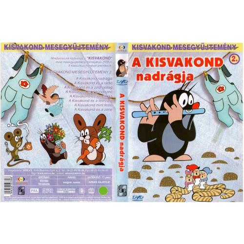 A kisvakond nadrágja (Kisvakond mesegyűjtemény 2.)  (DVD)