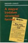 A magyar irodalom történeti forrásai