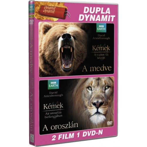 BBC - A medve - Az oroszlán 2 film 1 DVD-n (DVD)