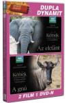 BBC -Kémek az állatvilágban - Az elefánt - A gnú - 2 film 1 DVD-n (DVD)