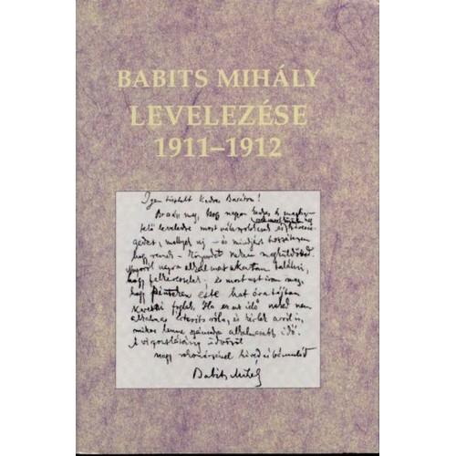 Babits Mihály levelezése 1911-1912, Magyar Könyvklub kiadó, Irodalom