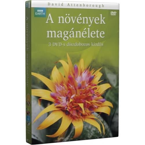 BBC - A növények magánélete 3 DVD-s díszdoboz (DVD)