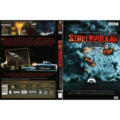 BBC - Szupervulkán (DVD)