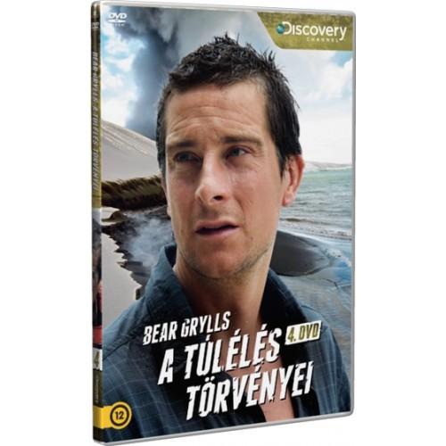 Bear Grylls - A túlélés törvényei 4. (Discovery DVD)
