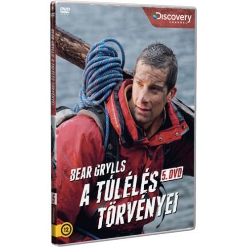 Bear Grylls - A túlélés törvényei 5. (Discovery DVD)