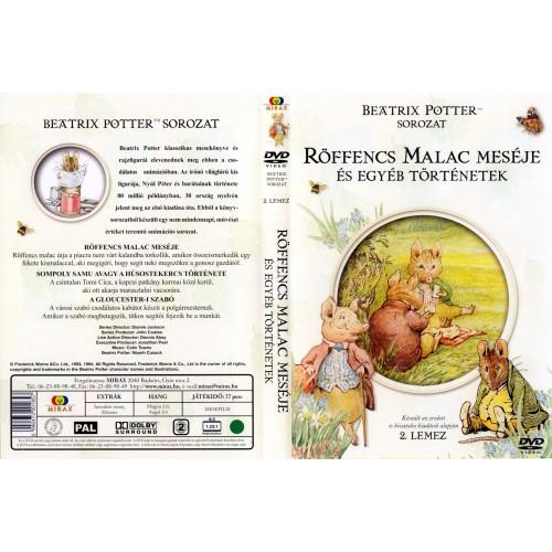 Beatrix Potter 2. - Röffencs malac meséje és egyéb történetek (DVD)