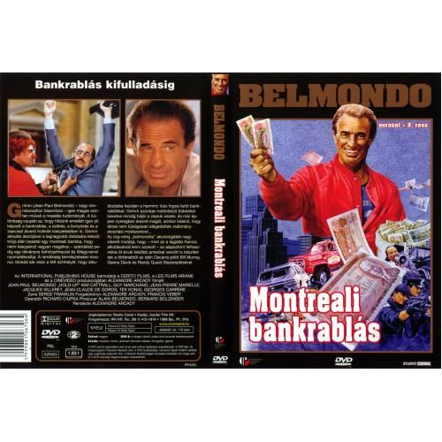 Belmondo - Montreali bankrablás (DVD)