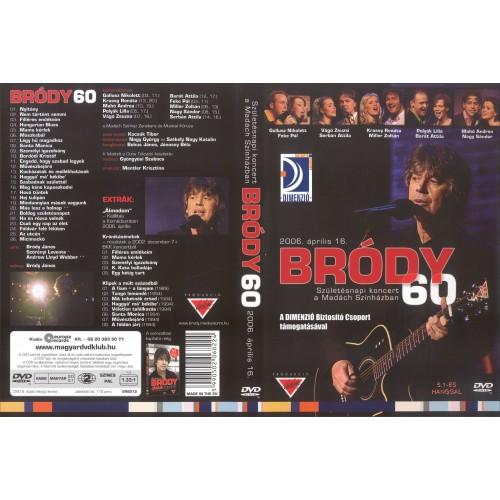 Bródy 60 - Születésnapi koncert a Madách Színházban (DVD)