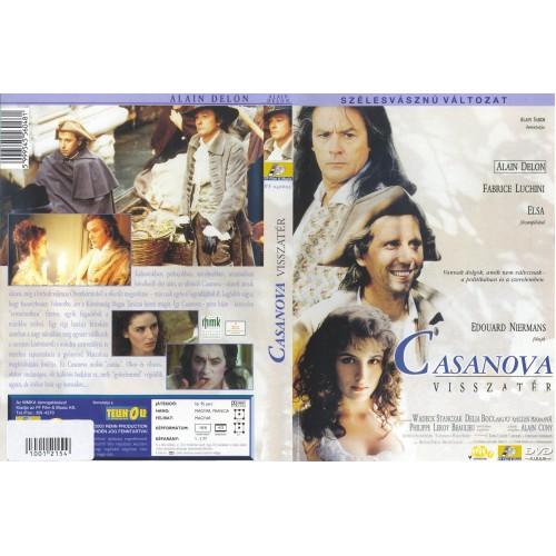 Casanova visszatér (Alain Delon) (DVD)