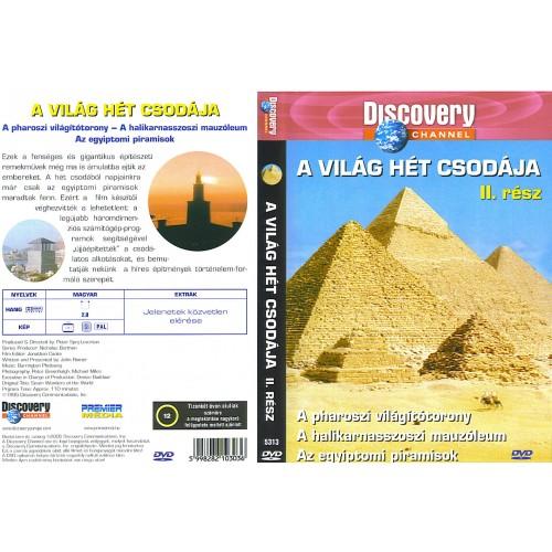 Discovery - A világ hét csodája 2. (DVD)