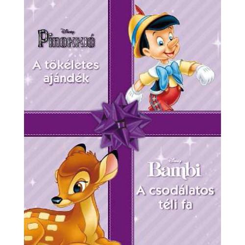 Disney - Pinokkió - A tökéletes ajándék / Bambi - A csodálatos téli fa