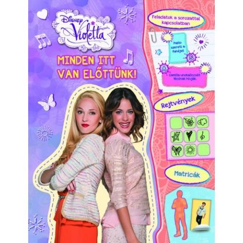 Disney Violetta sorozatának 6 könyve egy csomagban