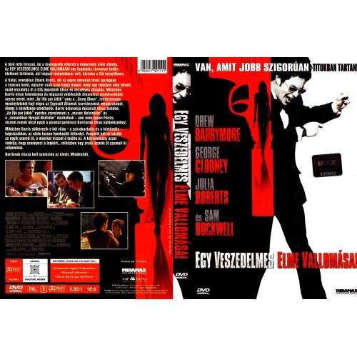 Egy veszedelmes elme vallomásai (DVD)