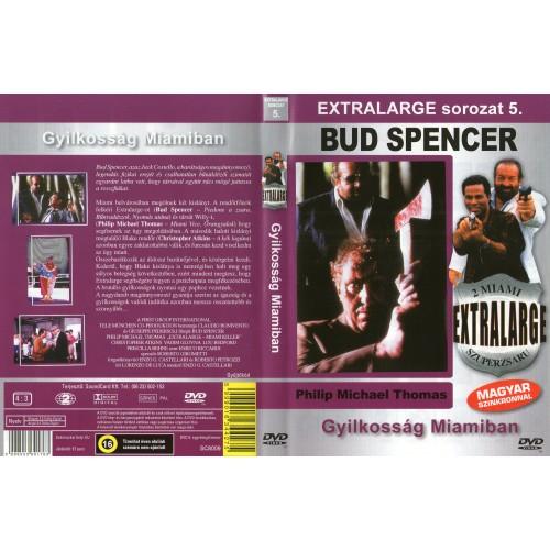Extralarge 5 - Gyilkosság Miamiban - Bud Spencer (DVD)