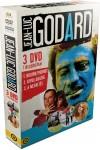 Godard díszdoboz (Bolond Pierrot, Kifulladásig, A megvetés) (3 DVD)