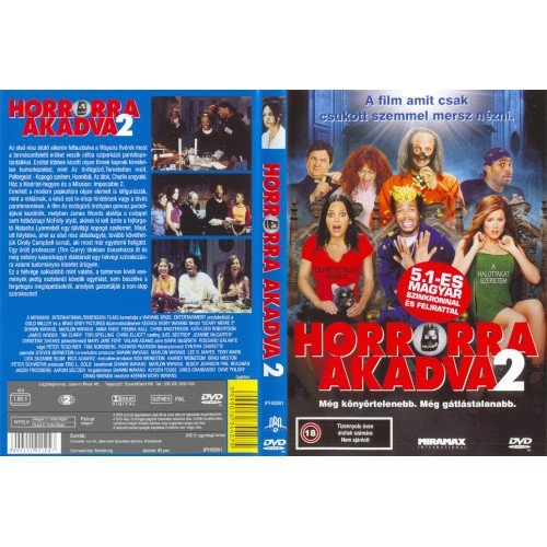 Horrorra akadva 2. (DVD)
