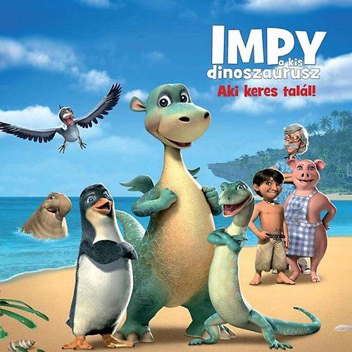 Impy a kis dinoszaurusz - Aki keres talál + másik DVD