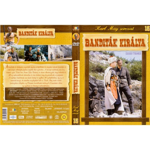 Karl May sorozat 15 - Banditák királya (DVD)
