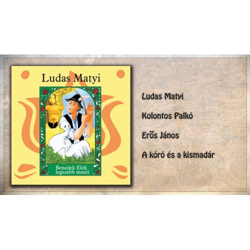 Ludas Matyi - Hangoskönyv (CD)