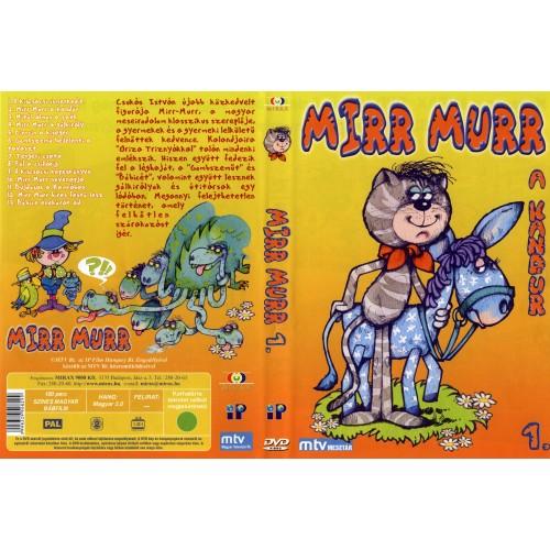 Mirr Murr a kandúr 1. (DVD)