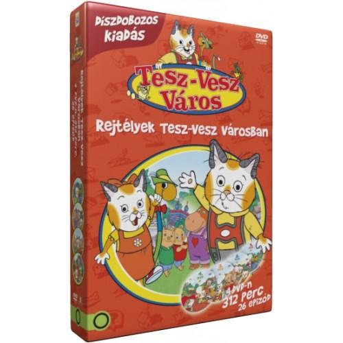 Rejtélyek Tesz-vesz városban 4 DVD-s díszdoboz (DVD)