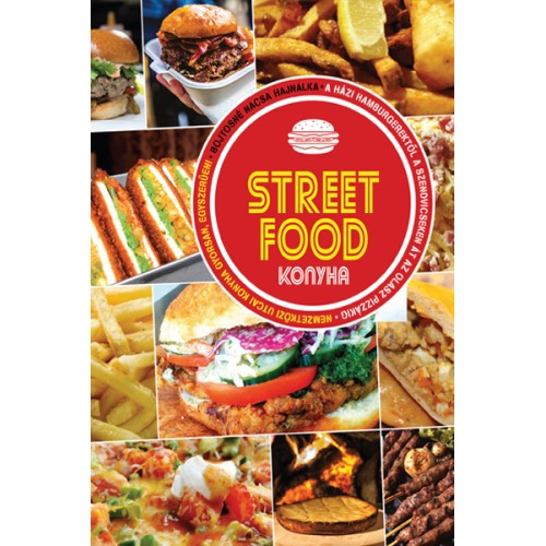 Street Food konyha, Vagabund kiadó, Szakácskönyvek, gasztronómia