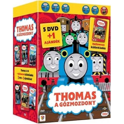 Thomas Díszdoboz 2. (Thomas 6-10 + Halloween) (DVD)