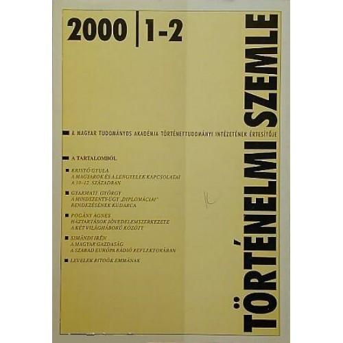 Történelmi Szemle 2000/1-2.