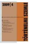 Történelmi Szemle 2009/4, MTA Történettudományi Intézet kiadó, Folyóiratok