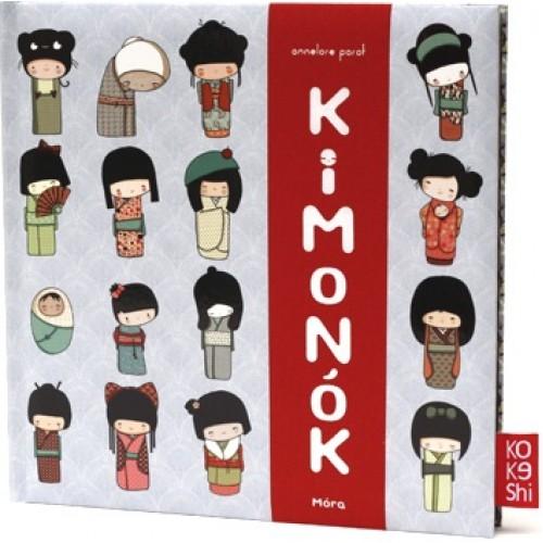 Kimonók (Kokeshi)