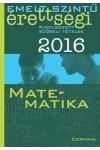 Emelt szintű érettségi - 2016 - Kidolgozott szóbeli tételek - Matematika
