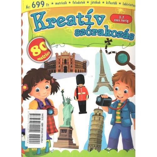 Kreatív szórakozás (3-7 éves korig)