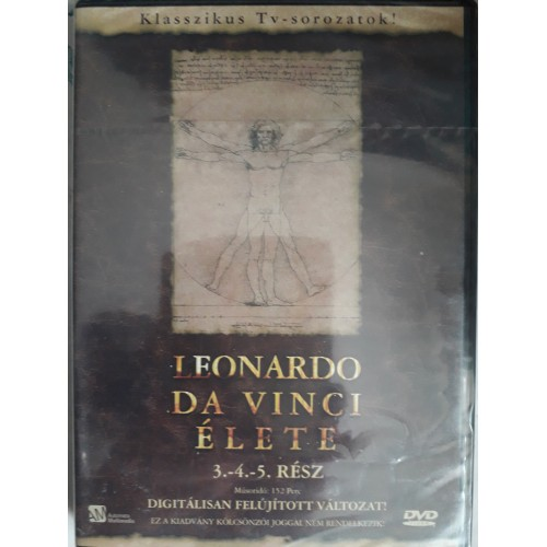Leonardo da Vinci élete II. (3-4-5. rész) (DVD) *
