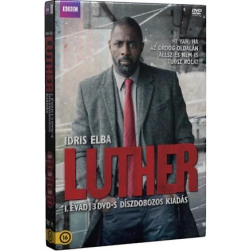 Luther 1. évad (3 DVD) - Díszdoboz