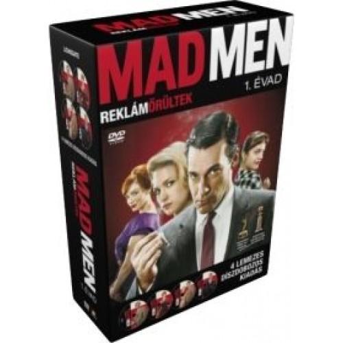 Mad Men - Reklámőrültek - 1. évad (4 DVD)