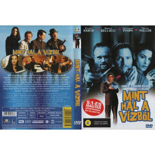 Mint hal a vízből (DVD)