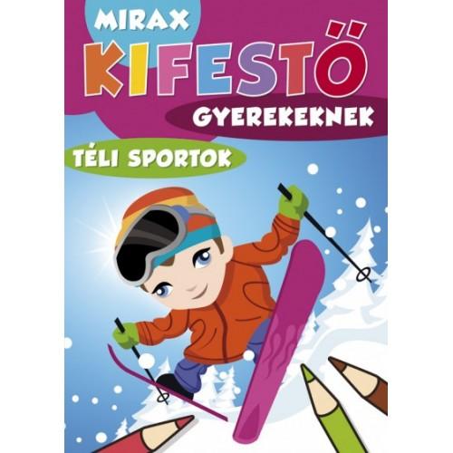 Mirax kifestő gyerekeknek – Téli sportok