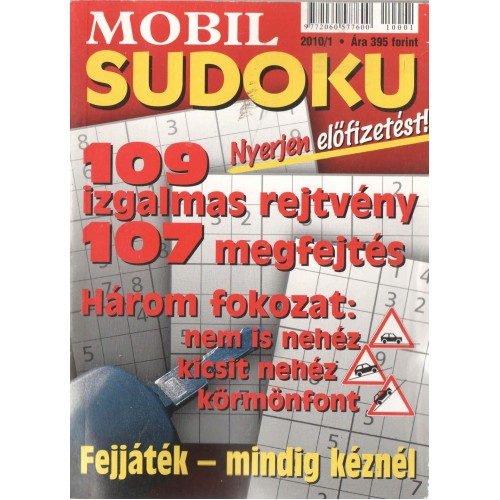 Mobil sudoku 2010/1