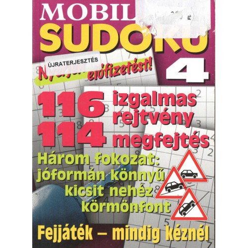 Mobil sudoku 2011/4