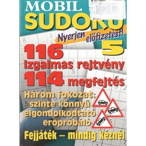 Mobil sudoku 2012/5