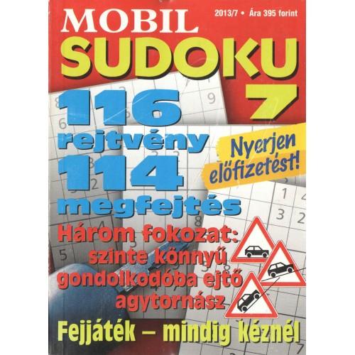 Mobil sudoku 2013/7