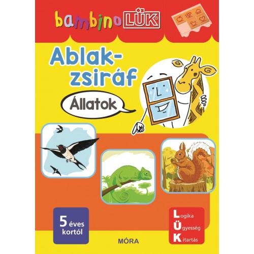 Ablak-Zsiráf - 5 éves kortól - Állatok - BambinoLÜK