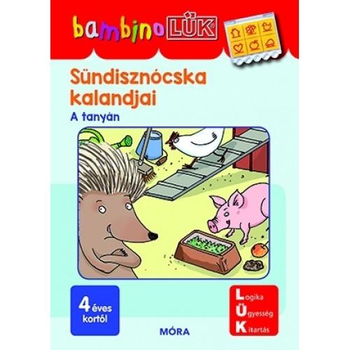 Sündisznócska kalandjai - 4 éves kortól - Alapozó feladatok óvodásoknak - BambinoLÜK