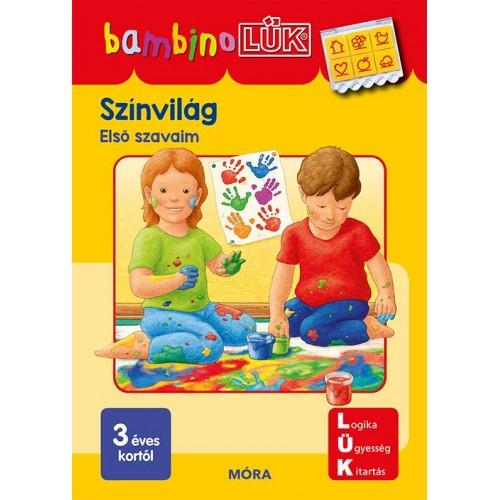 Színvilág - 3 éves kortól - Első szavaim - BambinoLÜK