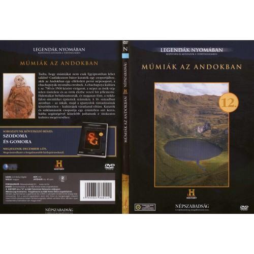 Múmiák az Andokban - Legendák nyomában 12. (DVD) *